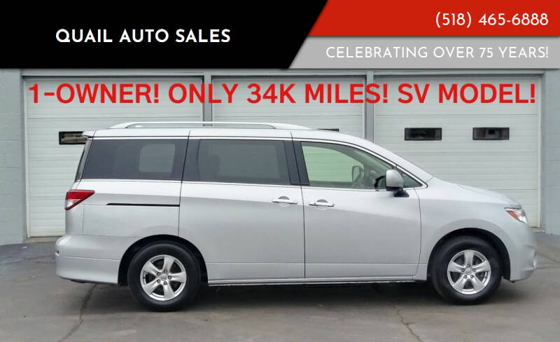 2017 Nissan Quest for sale at Quail Auto Sales in Albany NY