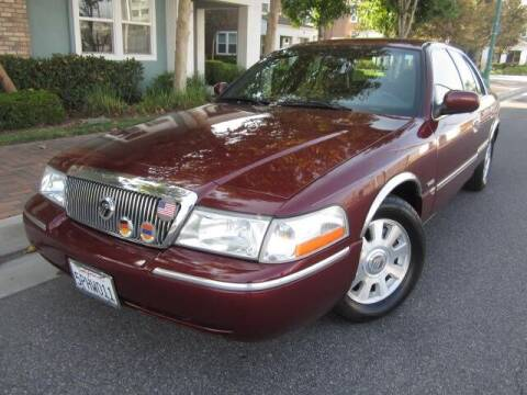 2005 Mercury Grand Marquis for sale at PREFERRED MOTOR CARS in Covina CA
