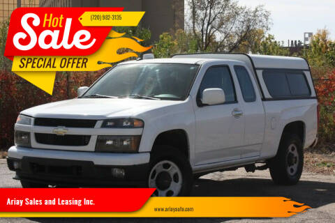 2012 Chevrolet Colorado for sale at Ariay Sales and Leasing Inc. in Denver CO