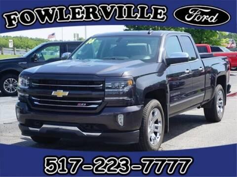 2016 Chevrolet Silverado 1500 for sale at FOWLERVILLE FORD in Fowlerville MI