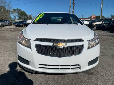 2014 Chevrolet Cruze for sale at Auto Mart in North Charleston SC