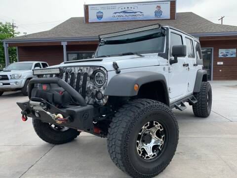 2012 Jeep Wrangler Unlimited for sale at Global Automotive Imports in Denver CO