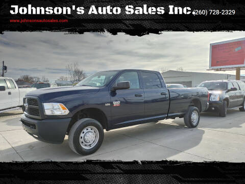 2012 RAM Ram Pickup 2500 for sale at Johnson's Auto Sales Inc. in Decatur IN