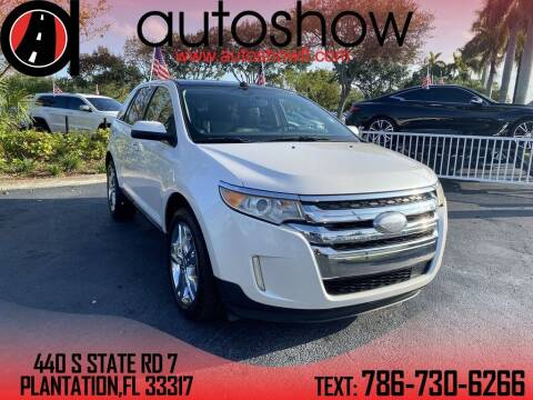 2011 Ford Edge for sale at AUTOSHOW SALES & SERVICE in Plantation FL