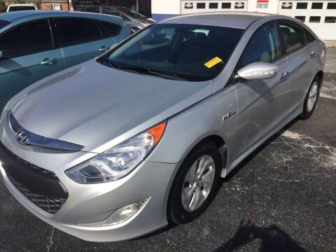 2014 Hyundai Sonata Hybrid for sale at Regal Cars of Florida-Clearwater Hybrids in Clearwater FL