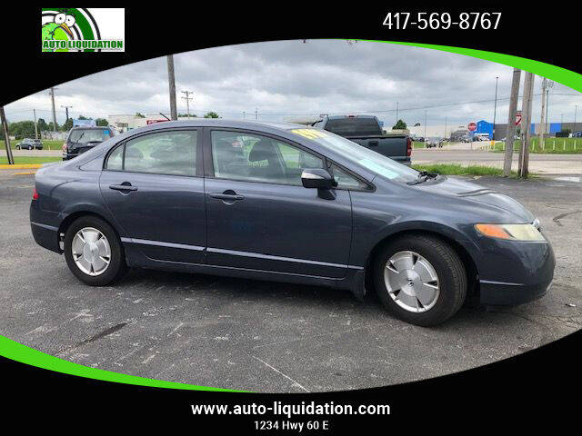 2008 Honda Civic for sale at Auto Liquidation in Springfiled MO
