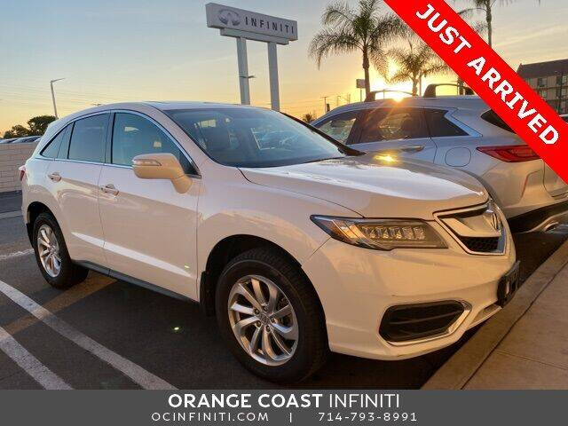 2016 Acura RDX for sale at ORANGE COAST CARS in Westminster CA