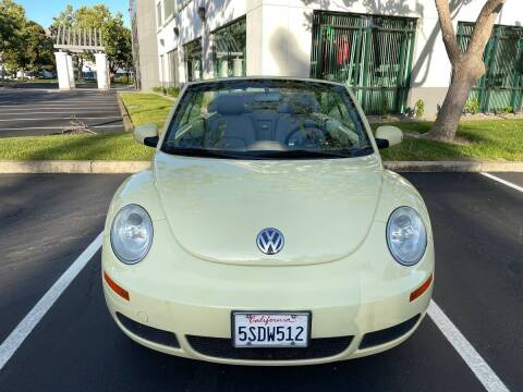 2006 Volkswagen New Beetle Convertible for sale at Hi5 Auto in Fremont CA
