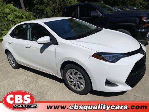 2019 Toyota Corolla for sale at CBS Quality Cars in Durham NC