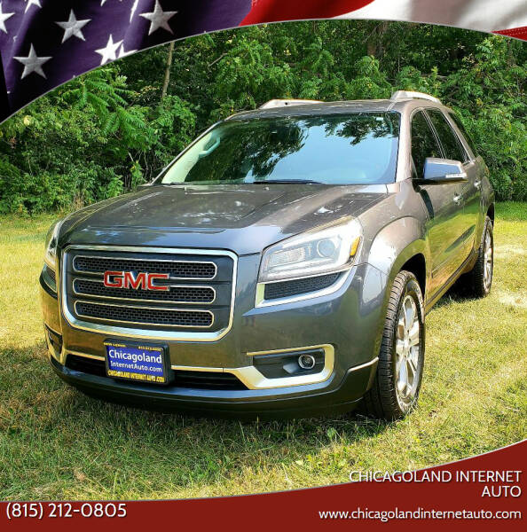 2014 GMC Acadia for sale at Chicagoland Internet Auto - 410 N Vine St New Lenox IL, 60451 in New Lenox IL