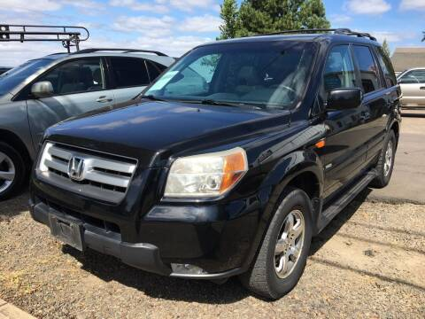 2007 Honda Pilot for sale at M AND S CAR SALES LLC in Independence OR