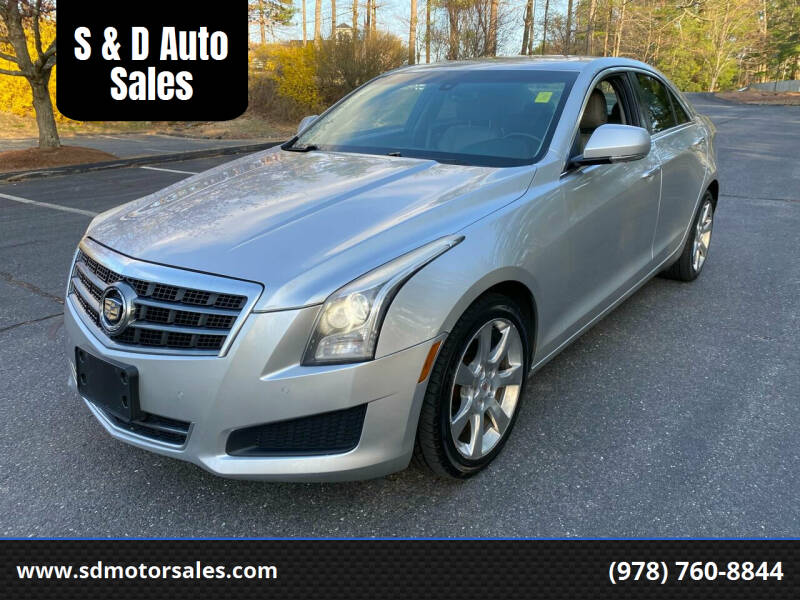 2014 Cadillac ATS for sale at S & D Auto Sales in Maynard MA