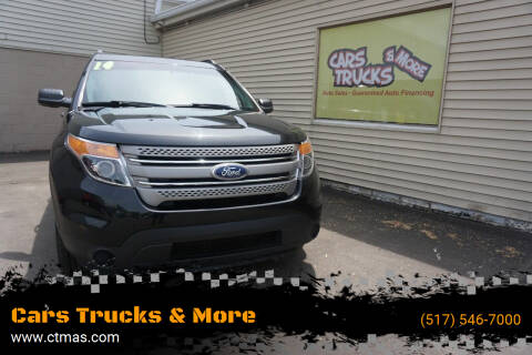 2014 Ford Explorer for sale at Cars Trucks & More in Howell MI