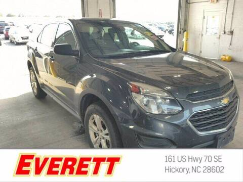 2017 Chevrolet Equinox for sale at Everett Chevrolet Buick GMC in Hickory NC