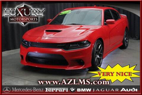 2019 Dodge Charger for sale at Luxury Motorsports in Phoenix AZ