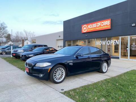 2011 BMW 5 Series for sale at HOUSE OF CARS CT in Meriden CT