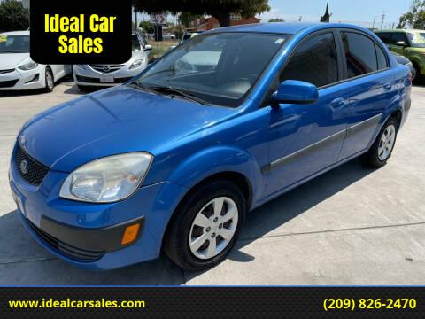 2009 Kia Rio for sale at Ideal Car Sales in Los Banos CA