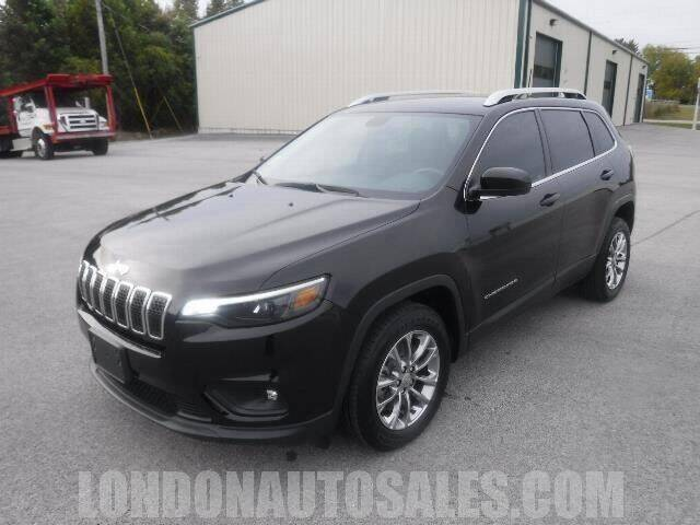 2019 Jeep Cherokee for sale at London Auto Sales LLC in London KY