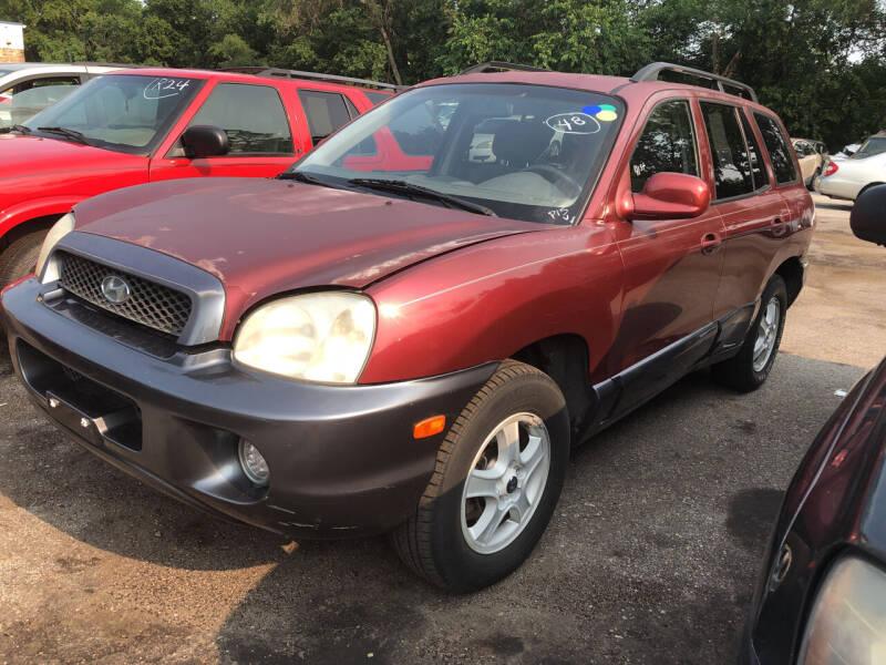 2003 Hyundai Santa Fe for sale at Sonny Gerber Auto Sales in Omaha NE