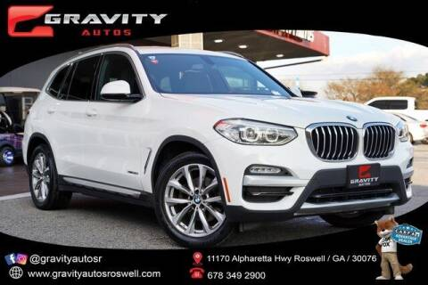 2018 BMW X3 for sale at Gravity Autos Roswell in Roswell GA