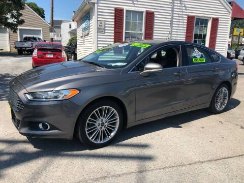 2014 Ford Fusion for sale at Crown Auto Sales in Abington MA