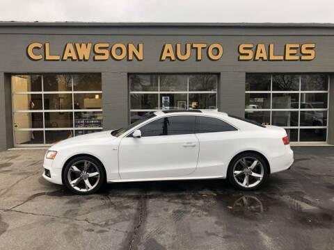 2010 Audi A5 for sale at Clawson Auto Sales in Clawson MI