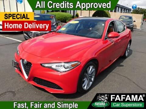 2017 Alfa Romeo Giulia for sale at FAFAMA AUTO SALES Inc in Milford MA
