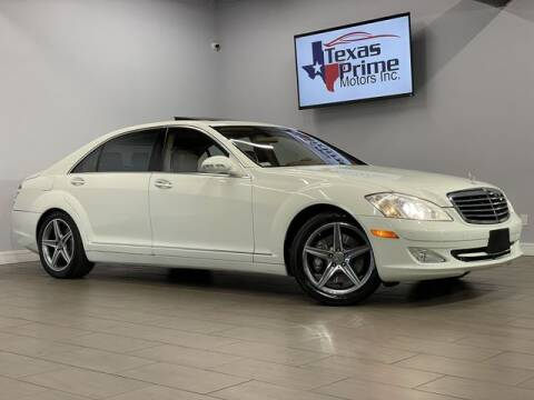 2008 Mercedes-Benz S-Class for sale at Texas Prime Motors in Houston TX