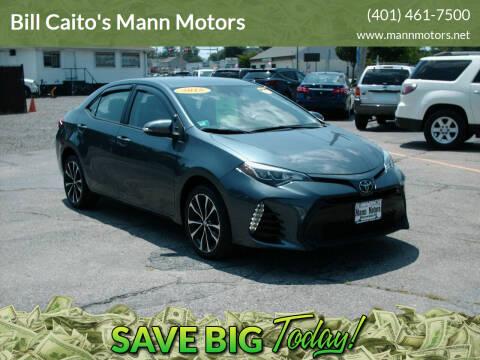 2018 Toyota Corolla for sale at Bill Caito's Mann Motors in Warwick RI
