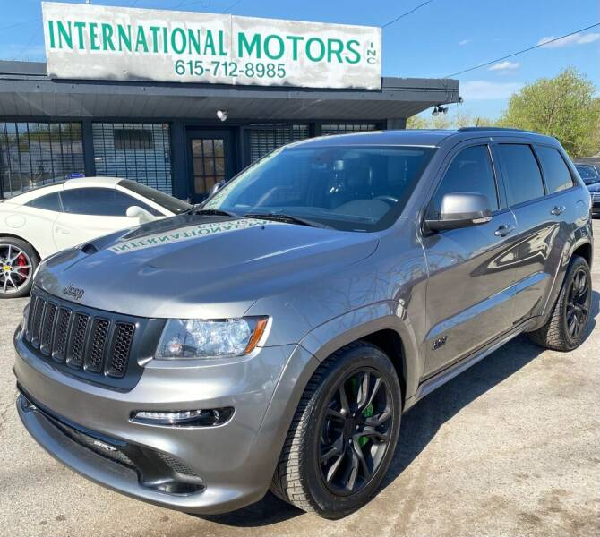 2013 Jeep Grand Cherokee for sale at International Motors Inc. in Nashville TN
