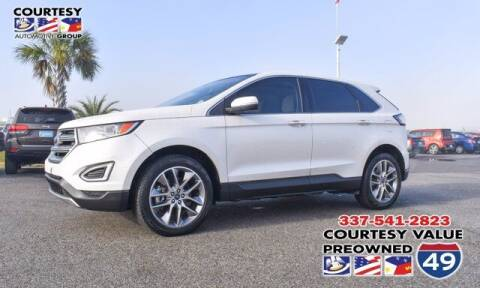2015 Ford Edge for sale at Courtesy Value Pre-Owned I-49 in Lafayette LA