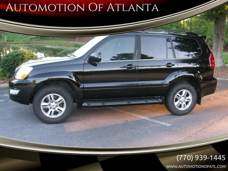 2006 Lexus GX 470 for sale at Automotion Of Atlanta in Conyers GA
