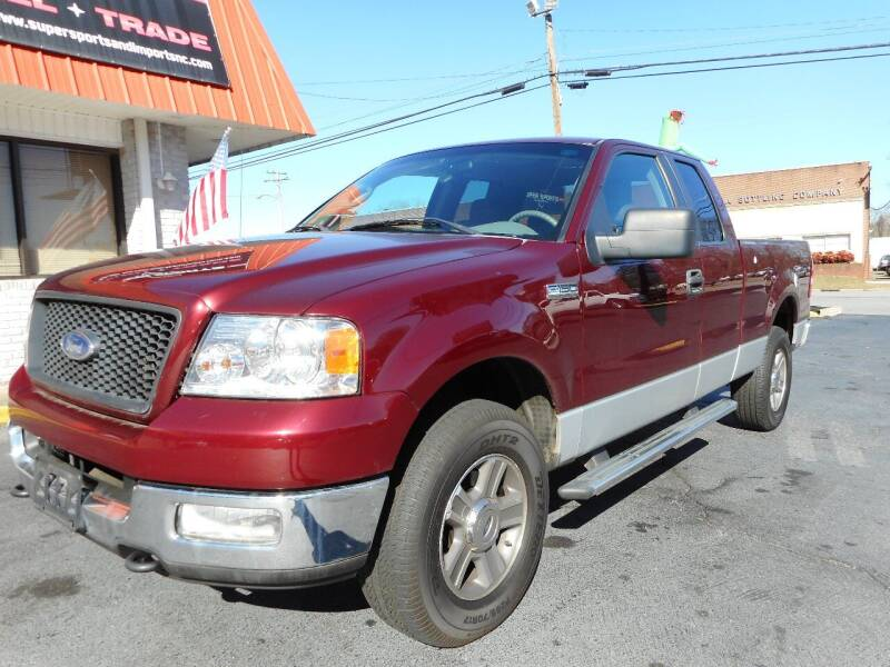 2005 Ford F-150 for sale at Super Sports & Imports in Jonesville NC