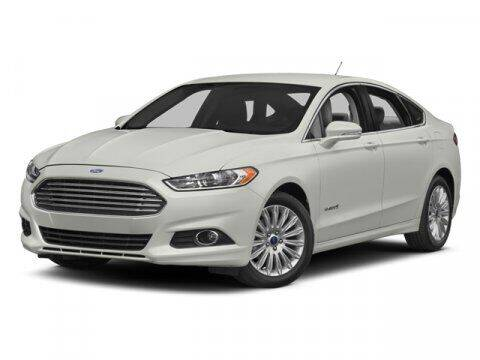 2014 Ford Fusion Hybrid for sale at TRAVERS GMT AUTO SALES - Traver GMT Auto Sales West in O Fallon MO