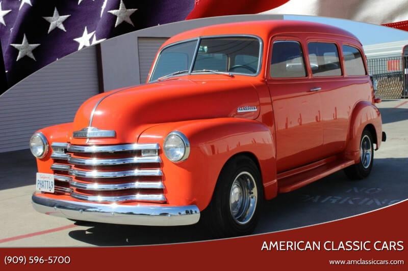 1949 Chevrolet Suburban for sale at American Classic Cars in La Verne CA