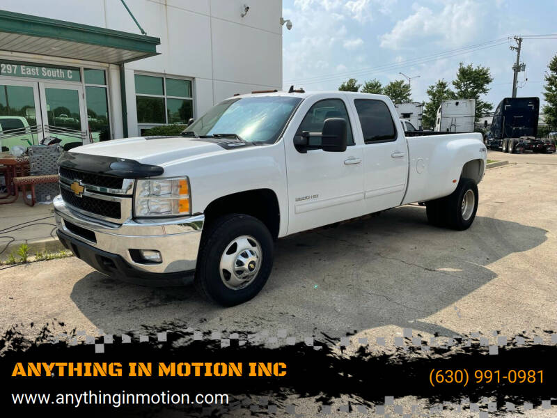 2014 Chevrolet Silverado 3500HD for sale at ANYTHING IN MOTION INC in Bolingbrook IL