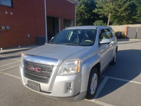 2010 GMC Terrain for sale at Credit Cars LLC in Lawrenceville GA