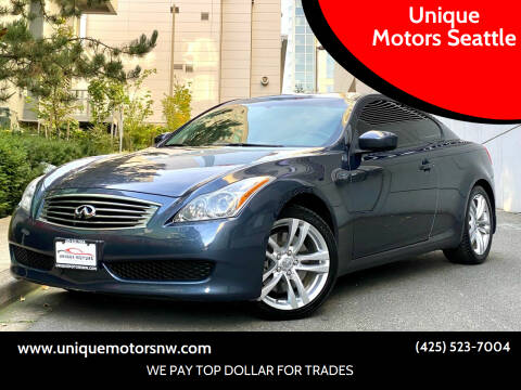 2010 Infiniti G37 Coupe for sale at Unique Motors Seattle in Bellevue WA