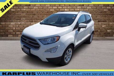 2018 Ford EcoSport for sale at Karplus Warehouse in Pacoima CA
