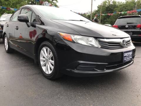 2012 Honda Civic for sale at Certified Auto Exchange in Keyport NJ