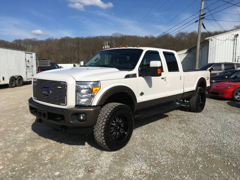 2015 Ford F-350 Super Duty for sale at T James Motorsports in Gibsonia PA