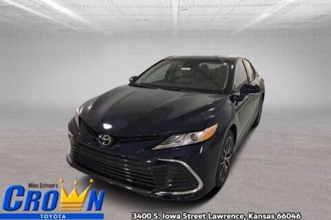 2021 Toyota Camry for sale at Crown Automotive of Lawrence Kansas in Lawrence KS