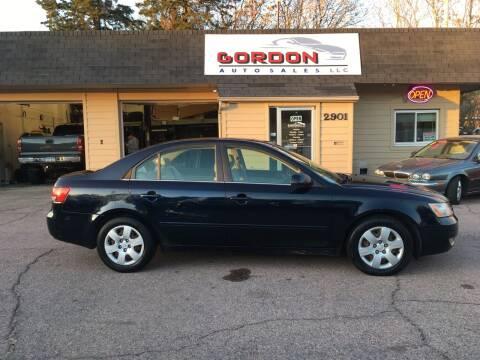 2006 Hyundai Sonata for sale at Gordon Auto Sales LLC in Sioux City IA