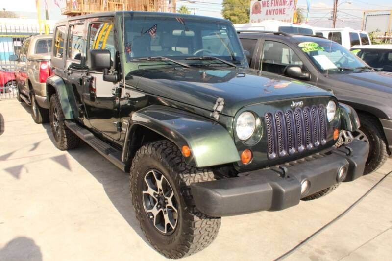 2010 Jeep Wrangler Unlimited for sale at FJ Auto Sales in North Hollywood CA