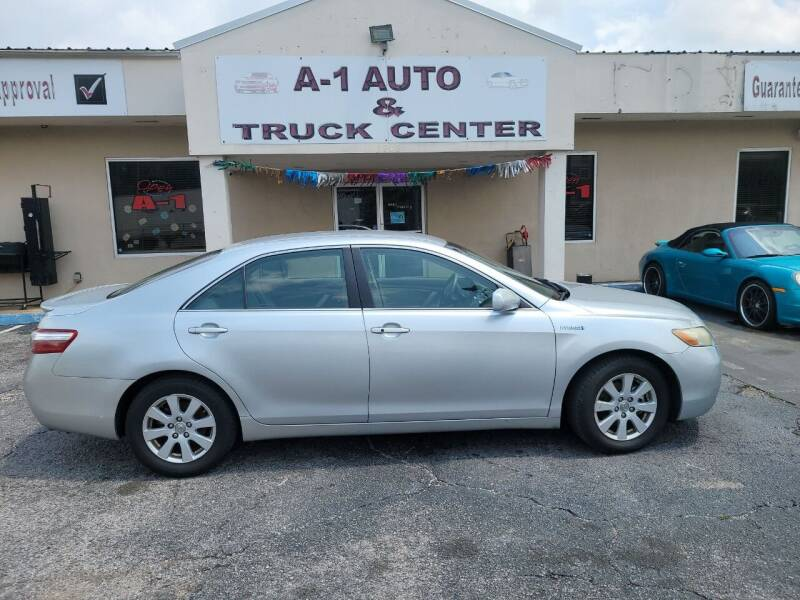 2007 Toyota Camry Hybrid for sale at A-1 AUTO AND TRUCK CENTER in Memphis TN