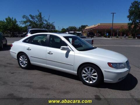 2008 Hyundai Azera for sale at About New Auto Sales in Lincoln CA
