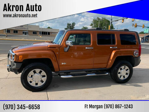 2007 HUMMER H3 for sale at Akron Auto - Fort Morgan in Fort Morgan CO