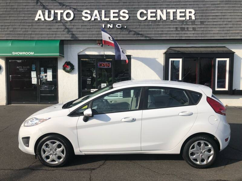 2013 Ford Fiesta for sale at Auto Sales Center Inc in Holyoke MA