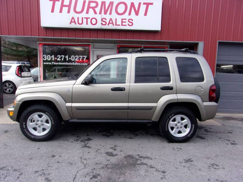 2007 Jeep Liberty for sale at THURMONT AUTO SALES in Thurmont MD