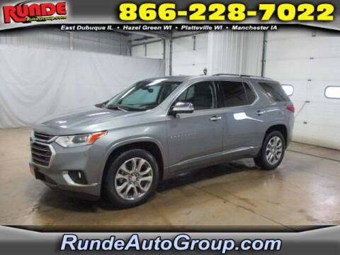 2019 Chevrolet Traverse for sale at Runde Chevrolet in East Dubuque IL